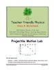 Projectile Motion Lab