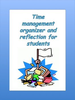 Projects: Time management and reflection template