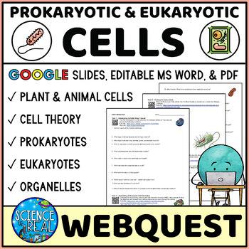 Prokaryotic and Eukaryotic Cells WebQuest & Video Game Handout