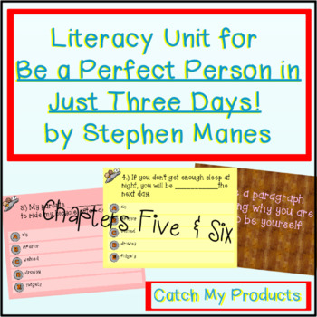 Be A Perfect Person in Just Three Days! Ch. 5 & 6 (Prometh