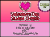 Promethean Board Valentine's Day Student Chooser