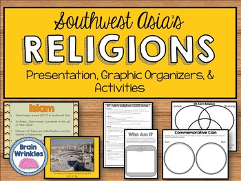 Prominent Religions in Southwest Asia - Judaism, Christian