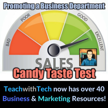Promoting Your Business Department - Candy Taste Test