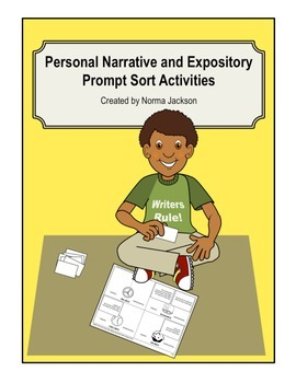 Prompt Sort (Narrative & Expository) Preparation for STAAR