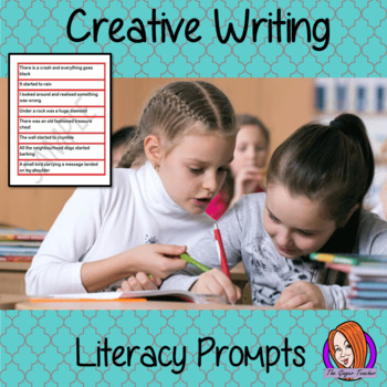 Prompts for Creative Writing - Literacy Support