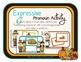 Pronoun Thanksgiving Pack w/ Bilingual Spanish Speech Ther