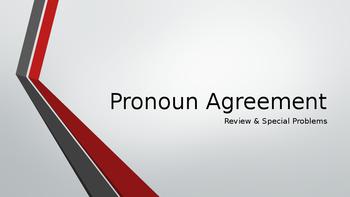 Pronoun Agreement Review Powerpoint