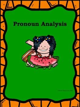 Pronoun Analysis
