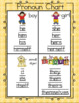 Pronoun Chart & Printable Activity