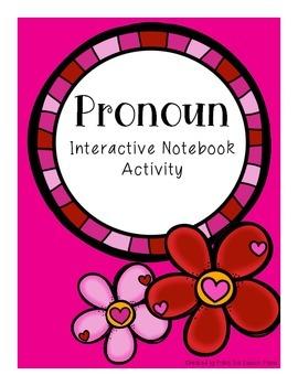 Pronoun Interactive Notebook Activity
