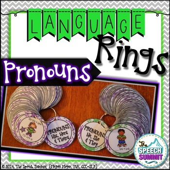 Pronoun Language Rings