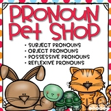 Pronouns Task Cards, Posters, and Extra Practice Bundle On