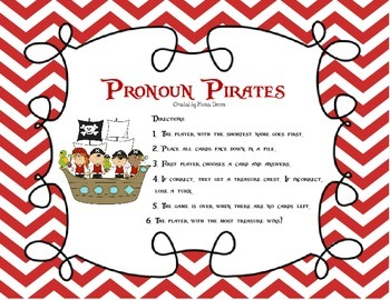 Pronoun Pirates