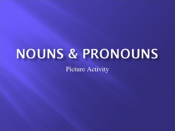 Pronoun Power Point Activity