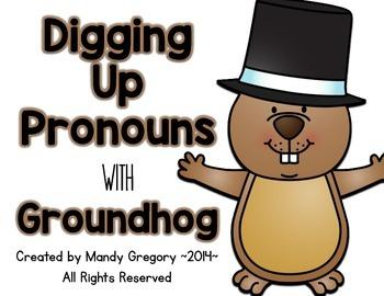 Pronoun Practice: Digging Up Pronouns with Groundhog!
