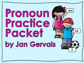 Pronoun Practice Packet