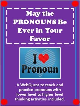 Pronoun Webquest