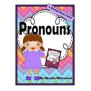 Pronouns:  A Working Words Packet for Young Readers