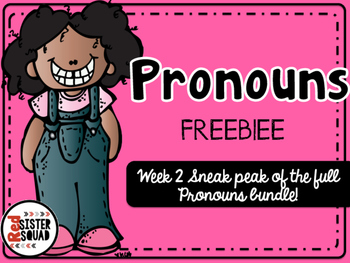 Pronouns Freebie