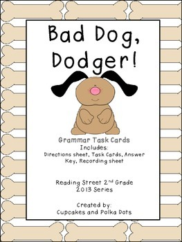 Pronouns- I and Me Reading Street Grammar Task Cards Grade 2
