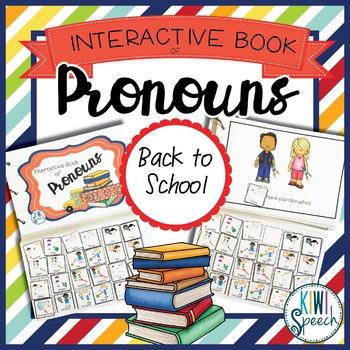 Pronouns Interactive Book {BACK TO SCHOOL}