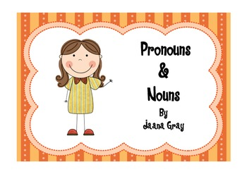 Pronouns Read and Write the Room