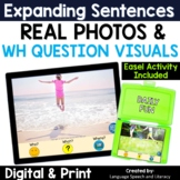 Pronouns, Verbs, Simple Sentences & Wh Questions With Phot