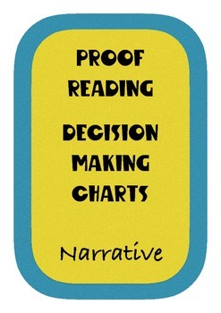 Proof Reading Charts
