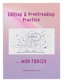 Proofreading Practice with Fables