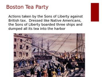Propaganda - American Revolution