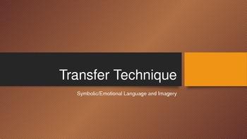 Propaganda: Transfer Technique