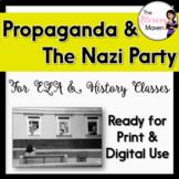 Nazi Propaganda Analysis from the Holocaust & WWII for ELA