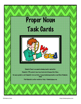 Proper Nouns/Capitalization Teach and Reach Bundle