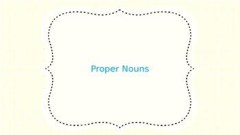 Proper Nouns Powerpoint