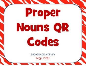 Proper Nouns QR Codes