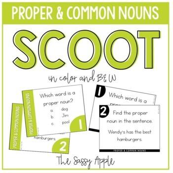 Proper and Common Nouns Scoot