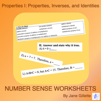 Properties I: Inverses, Identities, Etc.