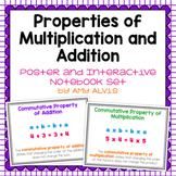 Properties of Addition and Multiplication Posters & Intera