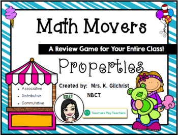 Properties of Addition and Multiplication Review Game for
