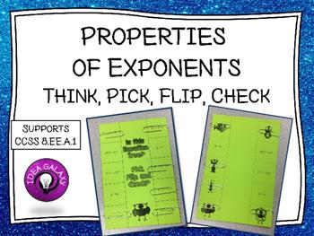 Properties of Exponents Activity