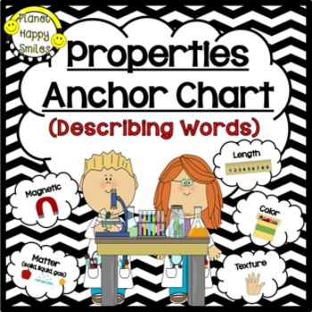 Properties of Matter Anchor Chart