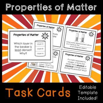 Properties of Matter (Volume, Density, Physical vs. Chemic