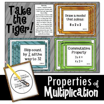 Properties of Multiplication Game