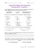 Properties of Multiplication No Prep Student Reference & P
