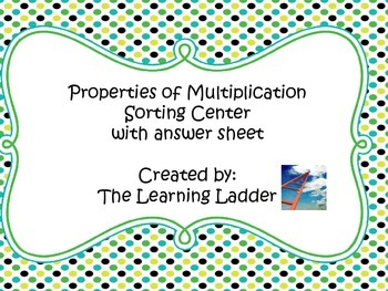 Properties of Multiplication Sorting Center with Student A