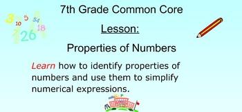 Properties of Numbers Made Easy