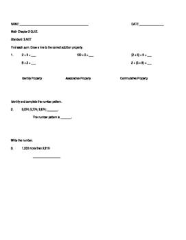 Properties of Operation - Quiz