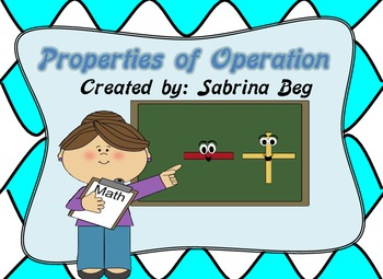 Properties of Operation Posters