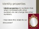 Properties of Real Numbers Presentation