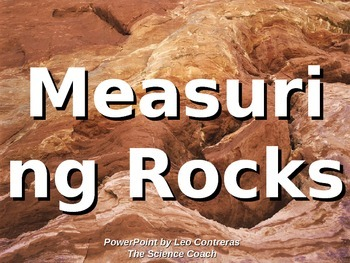 Properties of Rocks (length and weight) LESSON